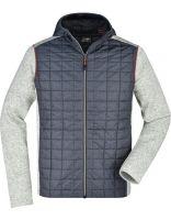 Moška Knitted Hybrid jakna J&N / JN772