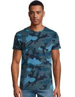 Moška Camo T-shirt majica SOL'S / L133