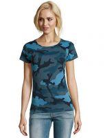 Ženska Camo T-shirt majica SOL'S / L134